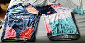 2 x New Funky Volegarb cycling jerseys Large