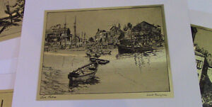 The Best of Lionel Barrymore, 4 Gold-Etch Prints Kitchener / Waterloo Kitchener Area image 5