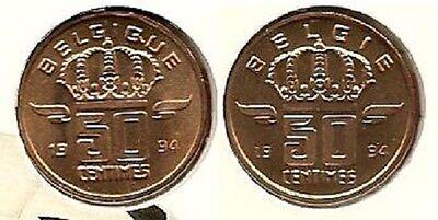 50 cent 1994 fr+vl * uit muntenset * FDC / UNC *
