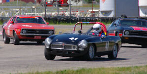 Affordable Vintage MGB Race Car