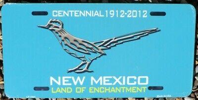 Nummernschild Road Runner Teal New Mexico 30x15cm USA License Plate Blechschild