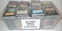 Magic The Gathering 30 Card Packs (Assorted Years)