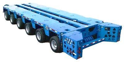 Trail King Modular Hydraulic Transport System 375000 Lb. Capacity