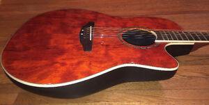 Ovation guitar for sale.