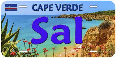 Sal Cape Verde Novelty Auto Car License Plate