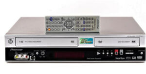 Pioneer DVD/VCR 2-Way Recording Combo w/Remote, Mint Condition!