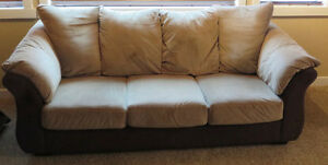 Full Size Two Tone Couch