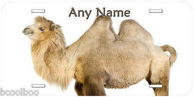 Camel Aluminum Tag Any Name Personalized Novelty Car Auto License Plate