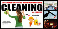 The cleaning company looking for new contracts for cleaning ser