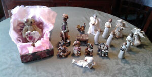 Boyds Bears, Sarah's Angels and Willow Tree Angels and more