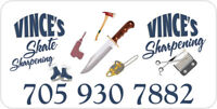Sharpening  clipper blades, scissors, skates,  knives, chainsaws