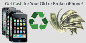 I WILL BUY YOUR DAMAGED & BROKEN IPHONE / 6 / 6S / 6PLUS/ 7/8/ X