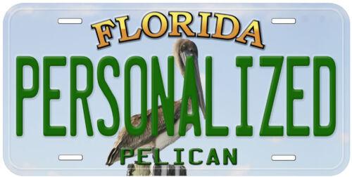 Pelican Florida Aluminum Any Name Novelty Car License Plate