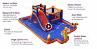 Pirate Blaster Inflatable Water Park for Rent in 2018