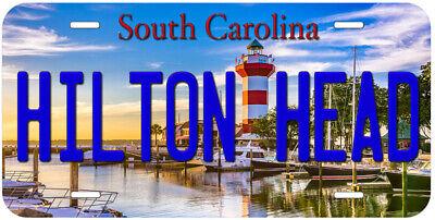 - Hilton Head South Carolina Novelty Car License Plate