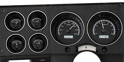 Dakota Digital 1973 - 87 Chevy GMC Pickup Truck Analog Gauges Kit VHX-73C-PU-K-W