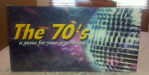 """The 70's"" a Monopoly style board game London Ontario image 1"