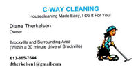 C-Way Cleaning - Housecleaning