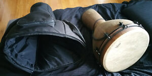 """18"""" Remo Djembe with case"""