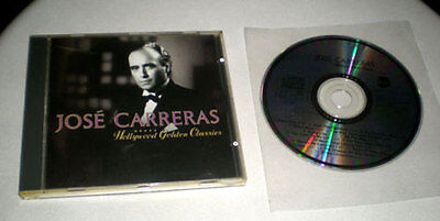 CD Jose Carreras - Hollywood Golden Classics | 14 Film Themes | 1991 - Classic Hollywood Theme