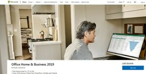 Microsoft Office 2019 for Windows and and Mac
