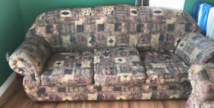 sofa and chair to give away