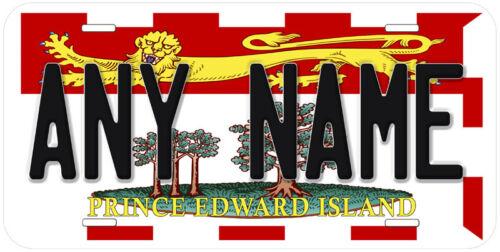 Prince Edward Island Flag  Canada Any Name Novelty Car License Plate