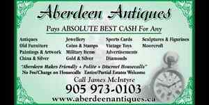 ABSOLUTE BEST PAID FOR HOME CONTENTS - ANTIQUES - COLLECTABLES