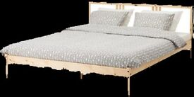 Wooden Double Bed (very new)