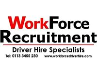 HGV C DRIVERS URGENTLY REQUIRED