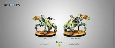 Infinity Haqqislam Remotes Pack (HMG, Missle Launcher) Corvus Belli 280498