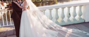 Dream wedding dress&veil