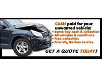 CARS VANS CARAVANS 4x4s ETC WANTED FOR CASH 07954802535