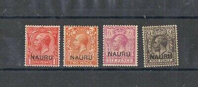 NAURU - Lot of old stamps