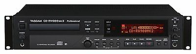 TASCAM CD-RW900mkII Professional CD Recorder Full Warranty