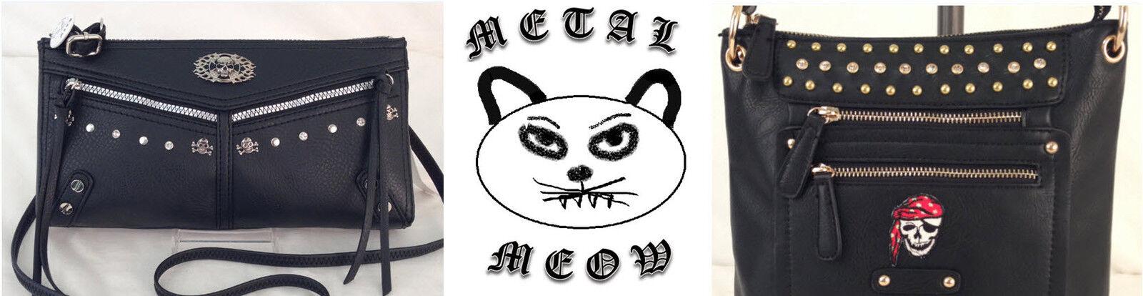 Metal Meow Bags
