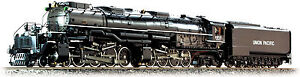 Accucraft AL97-391 Union Pacific Big Boy #4012 in 1:32 Live Steam, Neuware, New