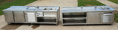 Stainless Steel Table Sinks Food Commercial Kitchen Nsf Commisary Cafe Coffee Ss