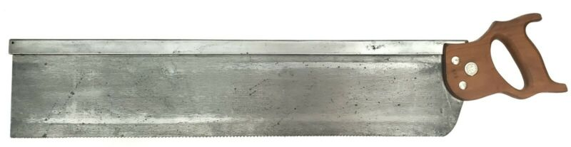 """E.C. Atkins 28"""" x 5"""" Mitre Saw Made For Stanley No. 358 Mitre Box"""