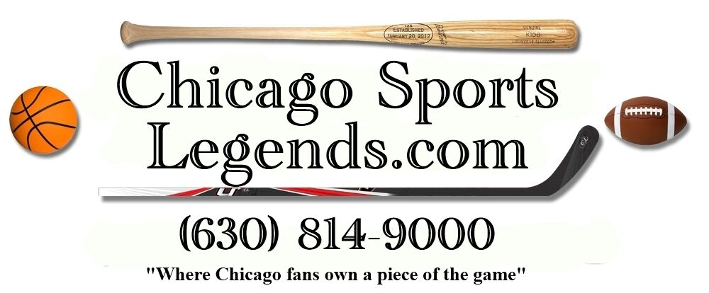 CHICAGO SPORTS LEGENDS Memorabilia