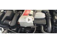 Mercedes 2litre kompressor engine