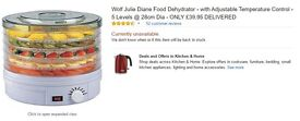 FOOD DEHYDRATOR BRAND NEW WITH BOX