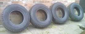 4x4 Tyres All Terrain Continental Cross Contact 235/85 16