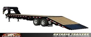 2016 PJ Trailers (FY) 30 ft  Dually with Hydraulic Dovetail