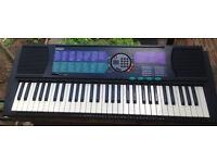 YAMAHA PORTATONE PSR-185 61 Keys Electronic Keyboard SYNTHESIZER Full-Size Keys