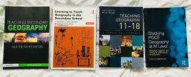 PGCE Geography Core Reading Books