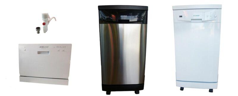 Portable Dishwasher Ventless Washer Dryer Combo