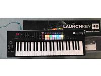 Novation Launchkey 49 MKII MIDI Controller Keyboard (like new - grab a great deal!)