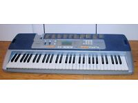 Electric Key Board Casio LK-110 Lighted Notes Keyboard to help beginners. Many Functions.