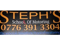 Steph's School of Motoring